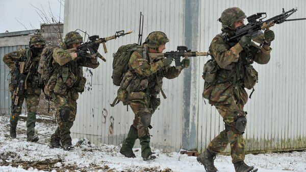 Dutch Army at Allied Spirit I - Sputnik International