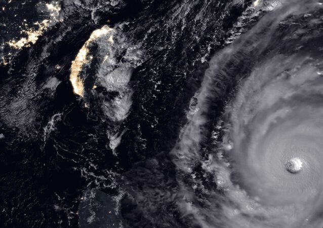 NASA super Typhoon Trami