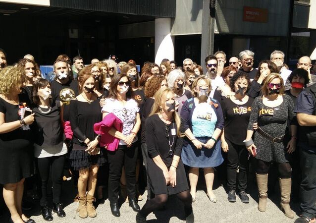 Female team of RTVE