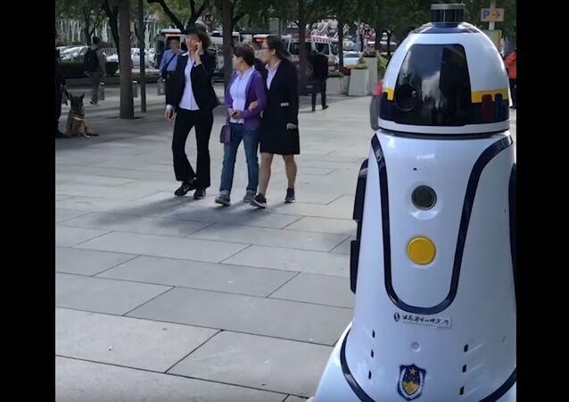 China: Robocop Patrolling Streets of Beijing