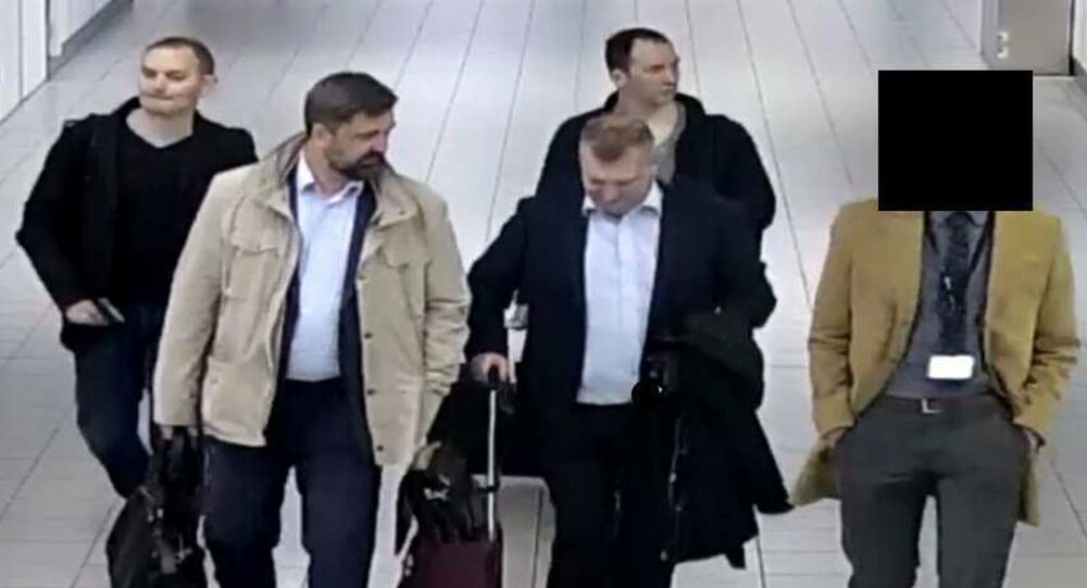 Four men who flew from Moscow to Amsterdam on 10 April this year were apprehended by Dutch authorities, officials said