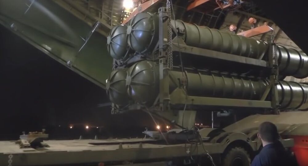Footage of Russian S-300 Missile Systems Being Delivered to Syria