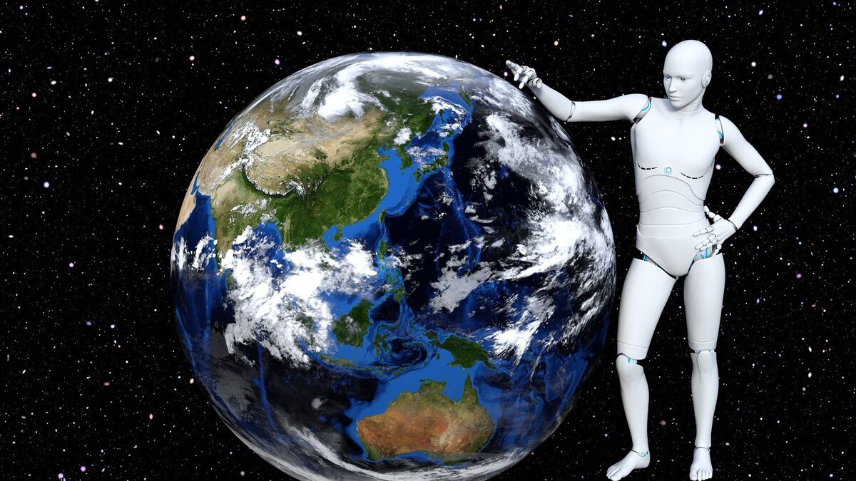 Application of AI in space exploration.