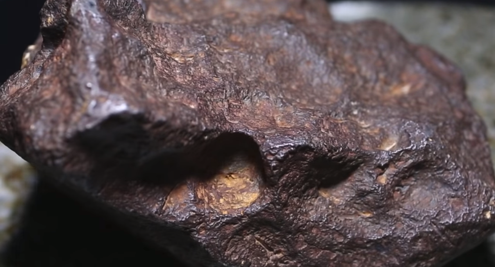 A 22-pound iron meteorite found in central Michigan that may be worth $100,000