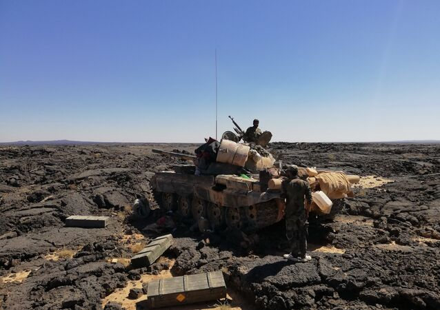 Syrian Army in As-Suwayda. File photo