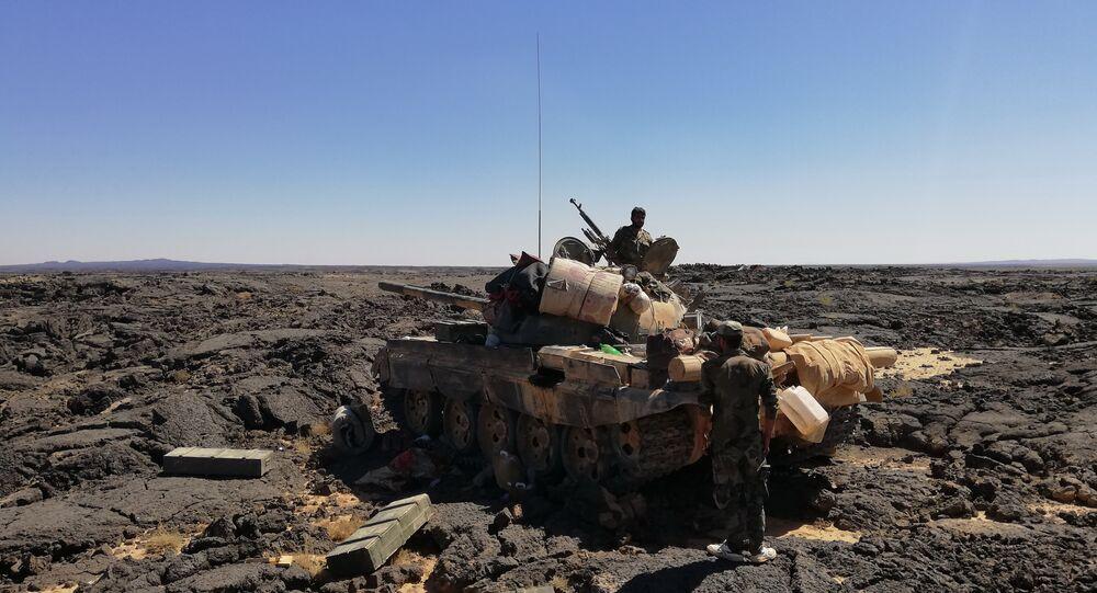 Syrian Army in Al-Suwayda. File photo
