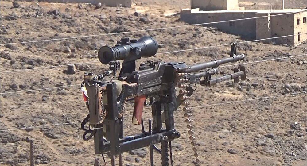 Hamzah Salam's automatic sentry turret
