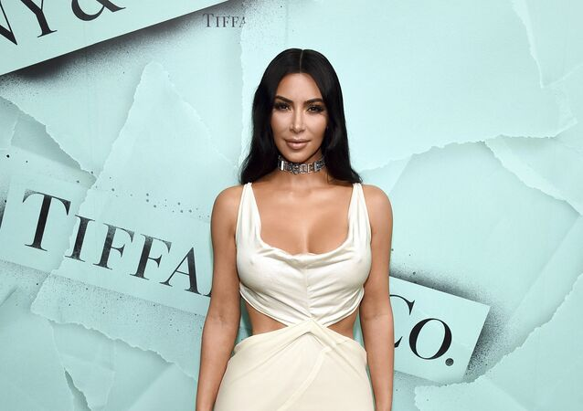 Kim Kardashian West attends the Tiffany & Co. 2018 Blue Book Collection: The Four Seasons of Tiffany celebration at Studio 525 on Tuesday, Oct. 9, 2018, in New York.