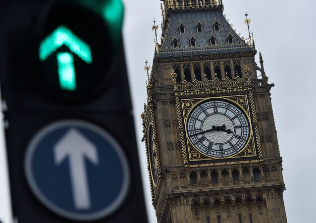 The Big Ben clocktower is seen in London, Britain,