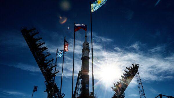 Soyuz MS-10 Launches to ISS from Baikonur Cosmodrome - Sputnik International