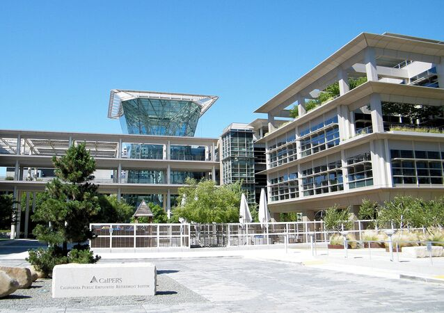 CalPERS headquarters at Lincoln Plaza in Sacramento.