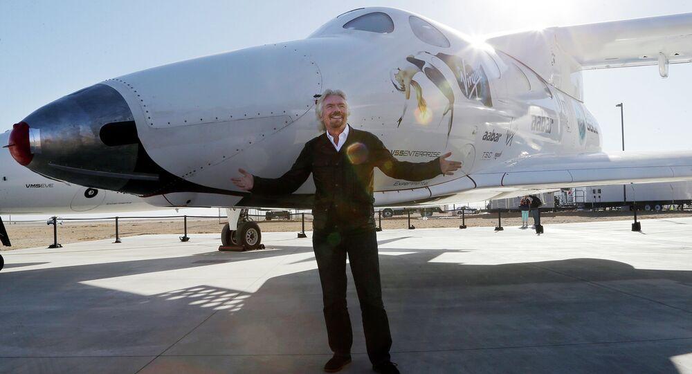 SpaceshipTwo - Branson