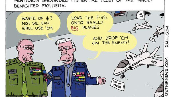 No Skies for F-35s - Sputnik International