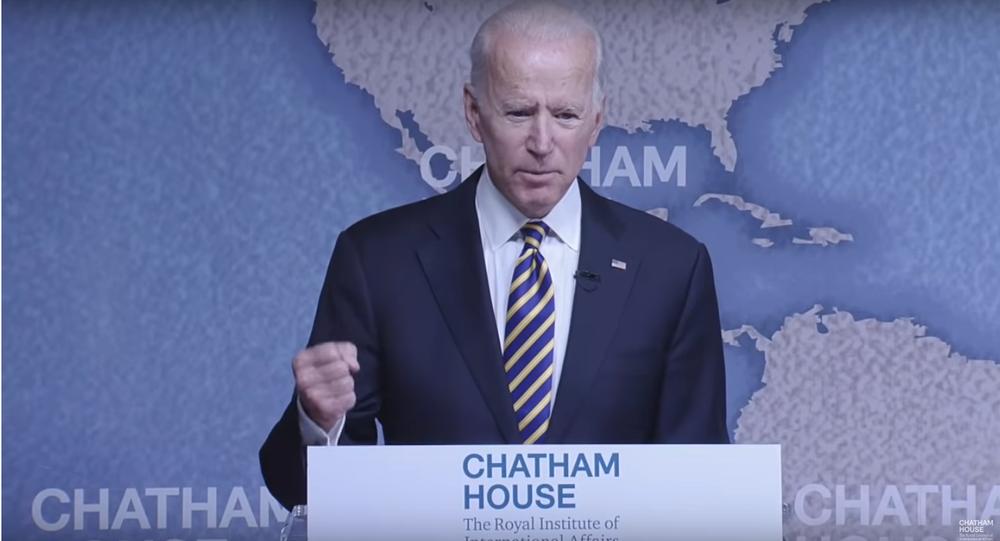 Joe Biden, October 10, 2018