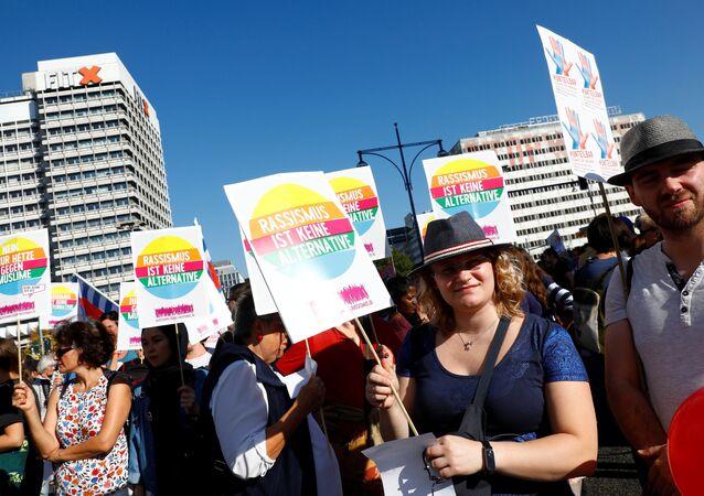 Rally #unteilbar in Berlin