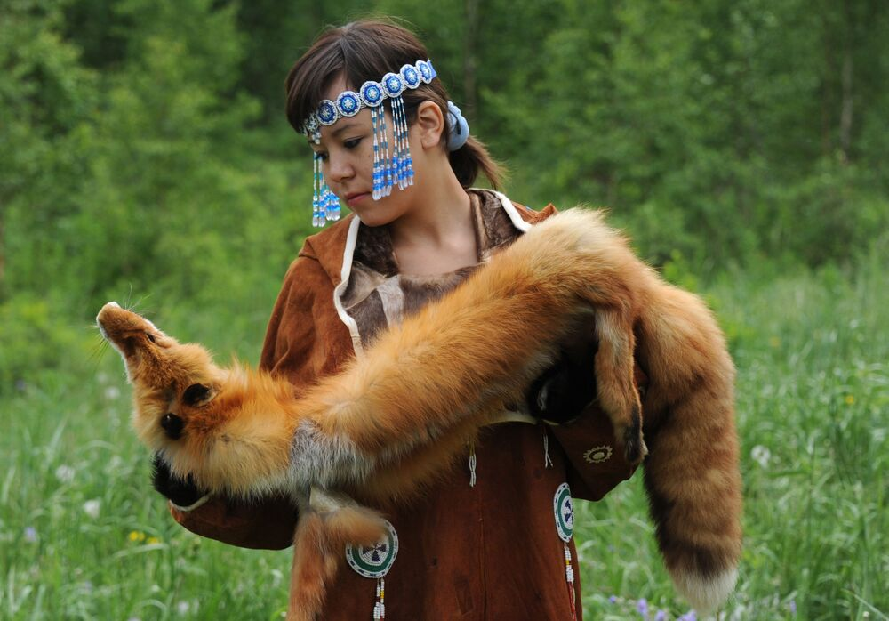 Indigenous Woman From Russian Far East