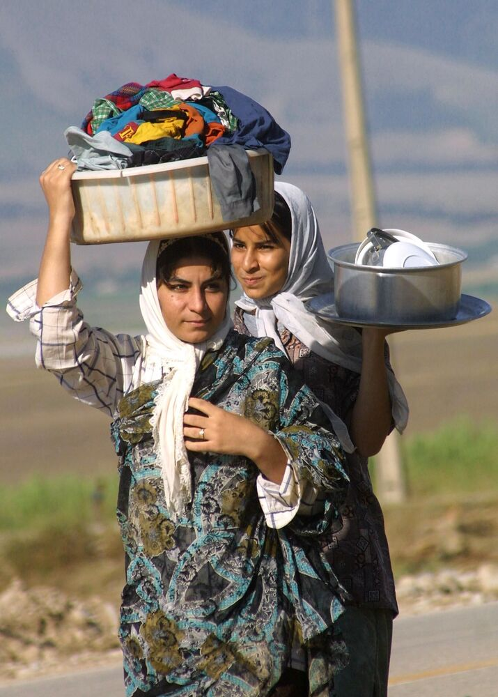 Iranian Women Near Afghan Border