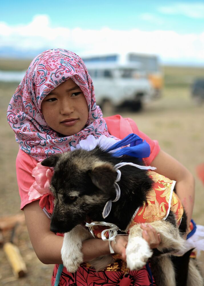 Indigenous Girl From Altai Republic in Russia