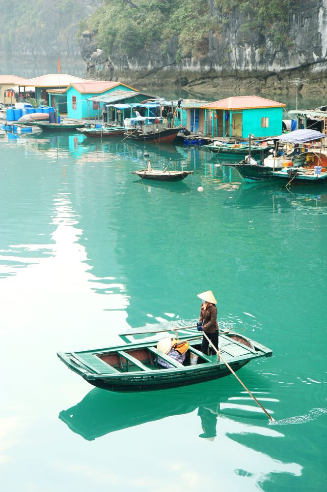 Woman From Vietnamese Fishing Village