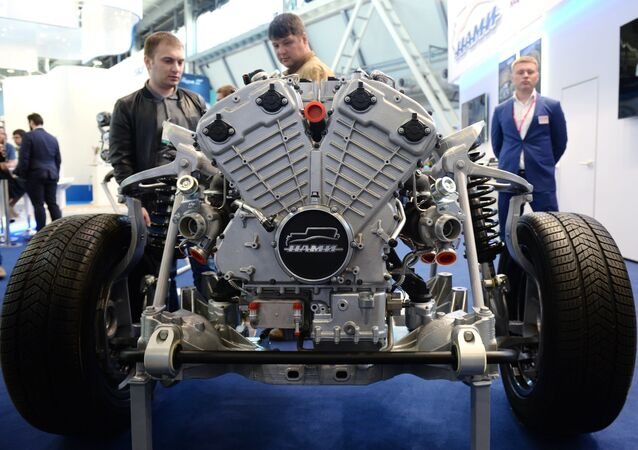 Engine for Kortezh project vehicles.