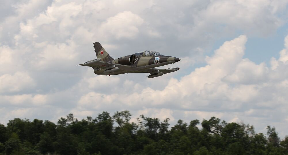 L-39 military trainer aircraft