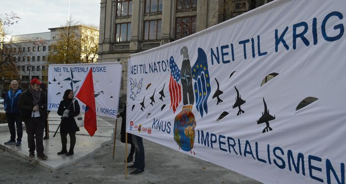 Norwegian Peace Activists Gather to Say No To NATO War Games