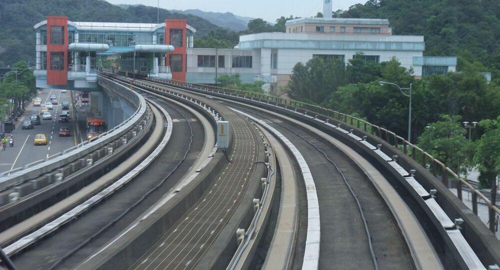 Railroad in Taiwan (File photo).