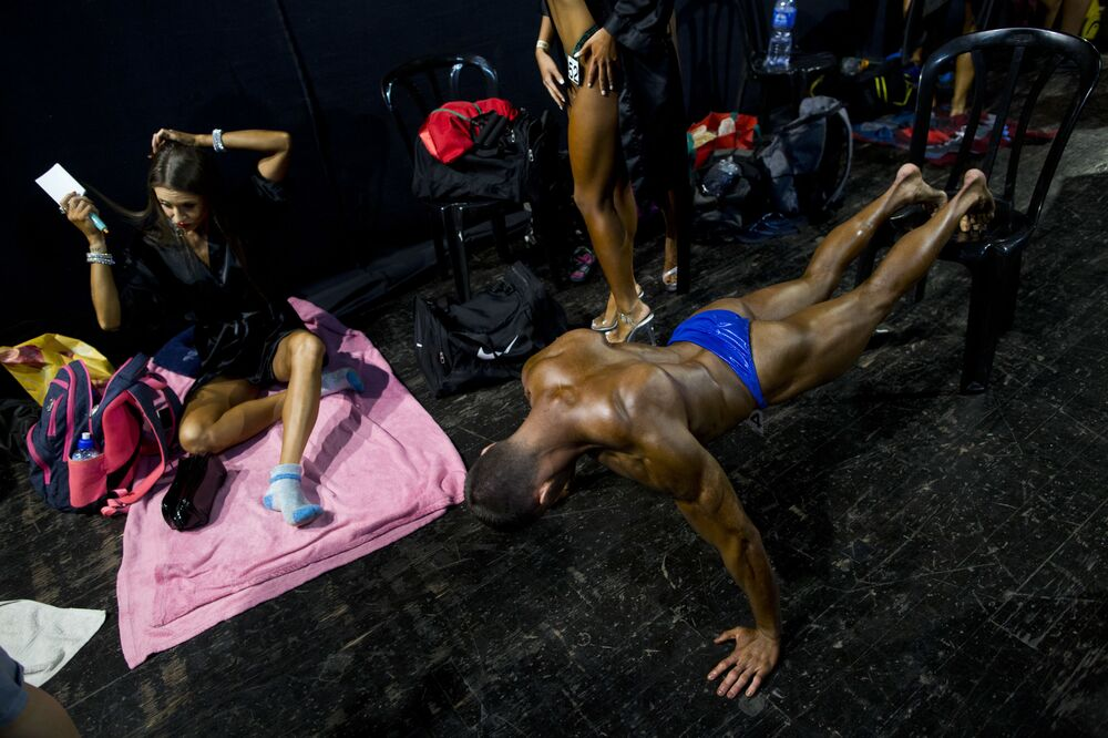 No Pain, No Gain: Highlights of Amateur Bodybuilder's Competition in Israel