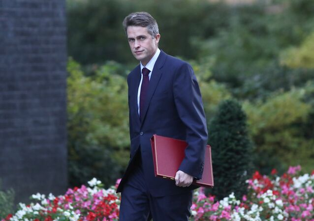 Britain's Secretary of State for Defense Gavin Williamson arrives in Downing Steet, London, Britain, October 9, 2018