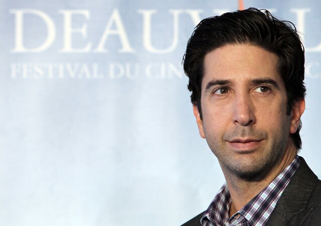 US actor David Schwimmer poses during the photocall of the movie Trust at the 37th American Film Festival, in Deauville, northwestern France, on September 8, 2011.