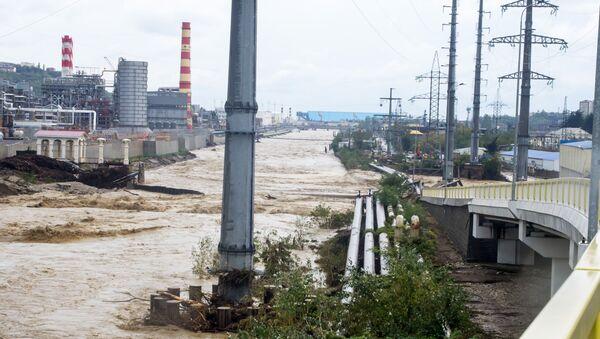 Flooding in Krasnodar region - Sputnik International