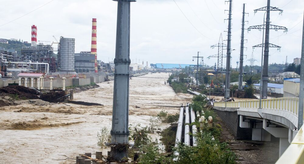 Flooding in Krasnodar region