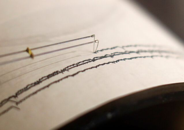A working seismograph