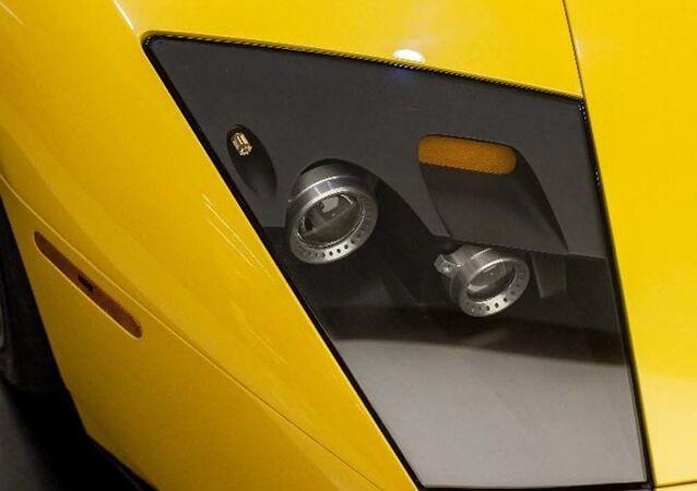 Iranian Lamborghini clone