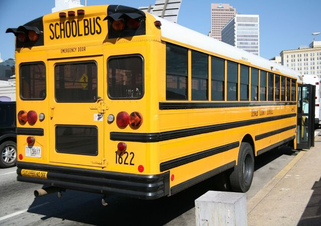 US school bus (file photo).