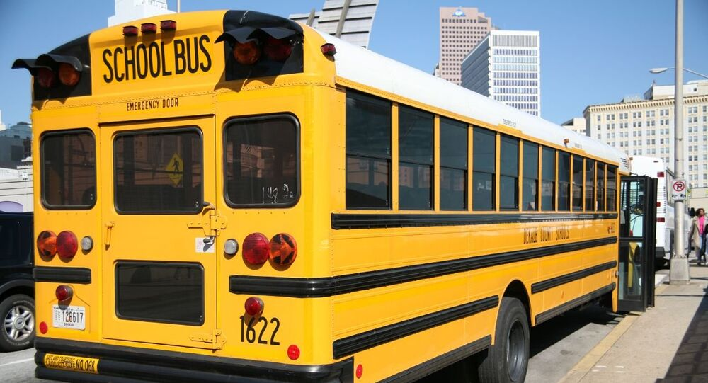 US school bus (file photo).