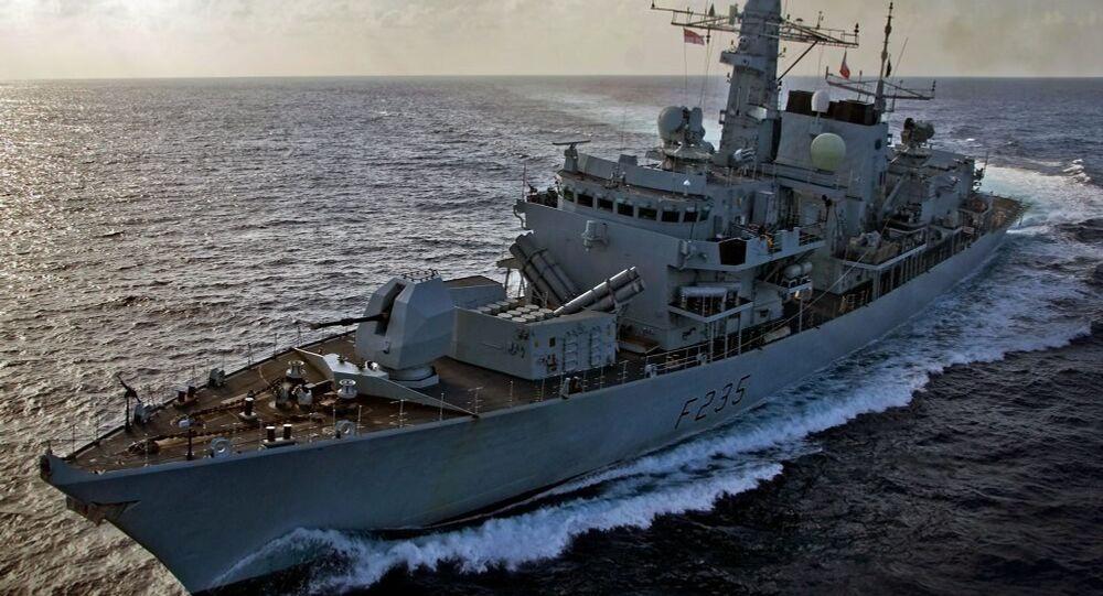 Royal Navy Type 23 Frigate HMS Monmouth. File photo