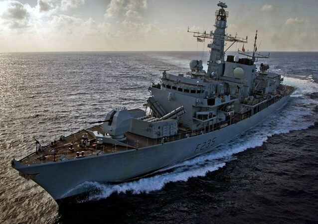 Royal Navy Type 23 Frigate HMS Monmouth. File photo