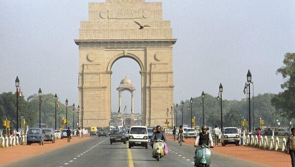 A monument the India Gate in New Delhi. - Sputnik International