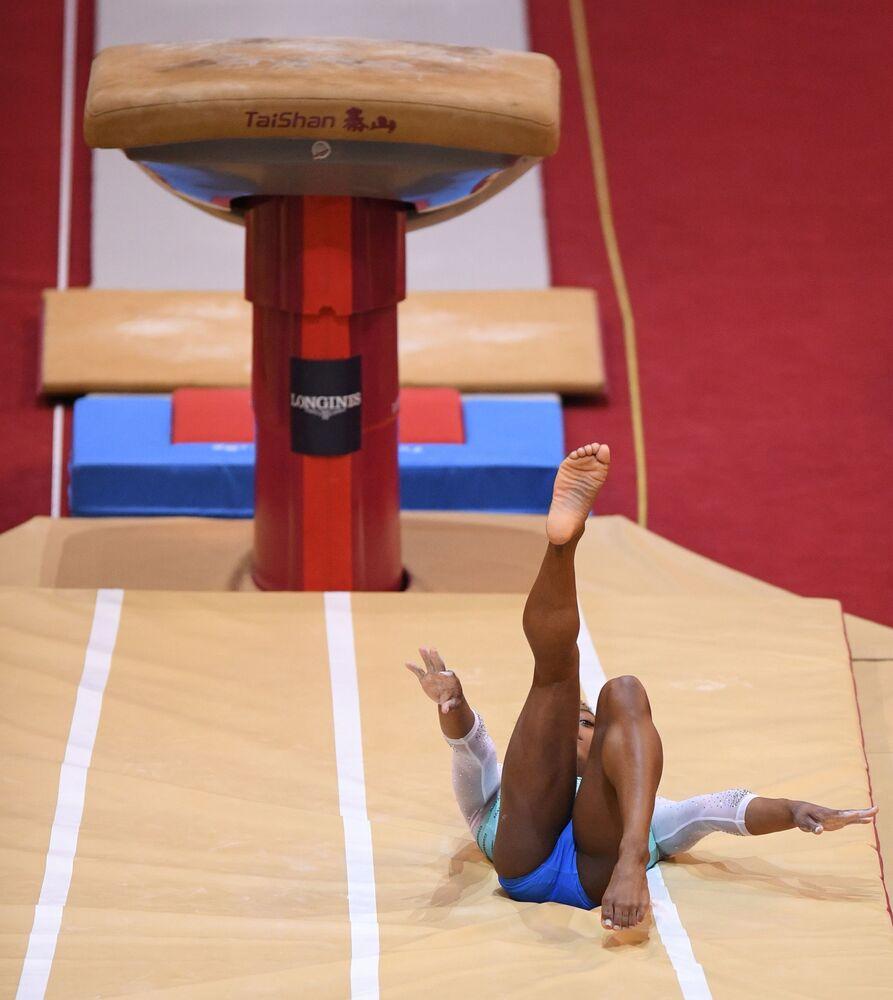 Grace & Poise: Female Athletes Stun World Artistic Gymnastics Championships