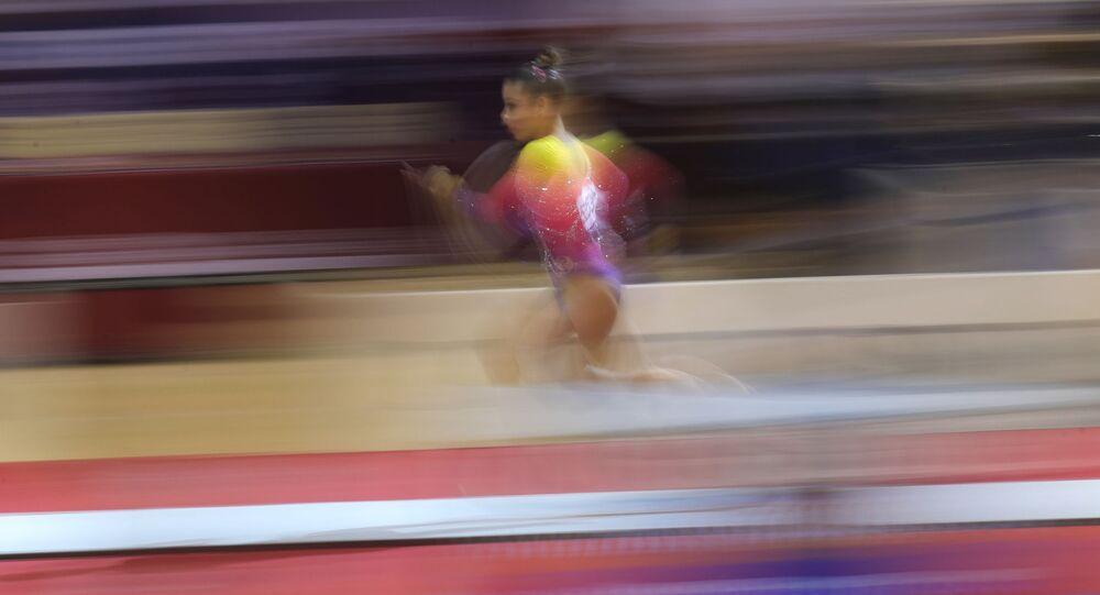 Grace & Poise: Female Athletes Stun World Artistic Gymnastics Championship