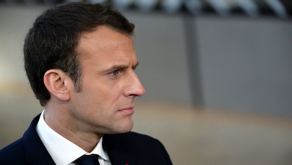 Emmanuel Macron - Sputnik International