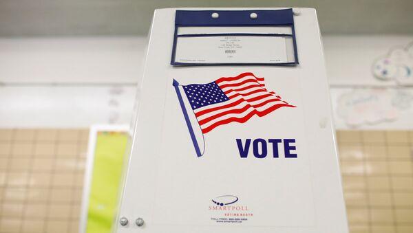 A voting booth - Sputnik International