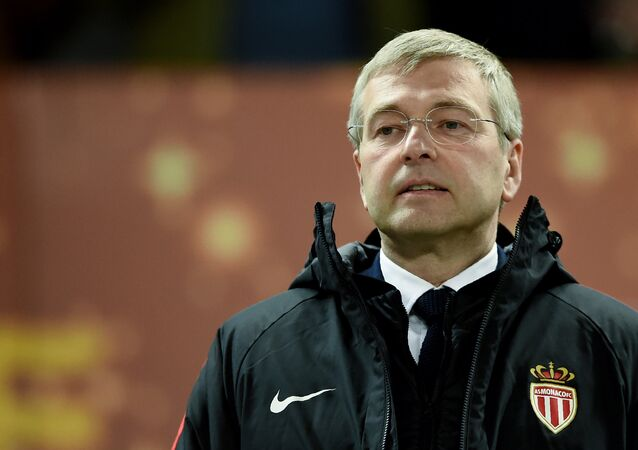 AS Monaco President Dmitry Rybolovlev looks on during the French League Cup final football match between Monaco (ASM) and Paris Saint-Germain (PSG) at The Matmut Atlantique Stadium in Bordeaux, southwestern France on March 31, 2018.