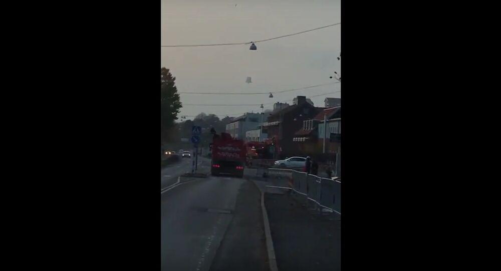 UFO in gothenburg
