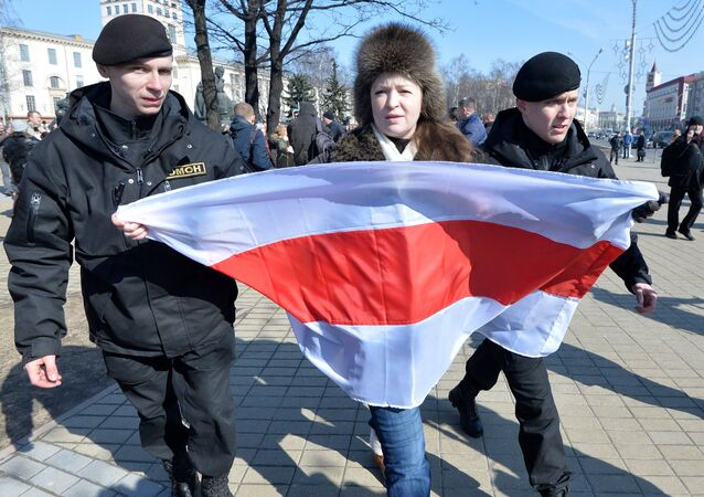 'Day of Will' Protests in Minsk. File photo.