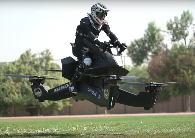 Dubai Police started training officers to fly hoverbikes