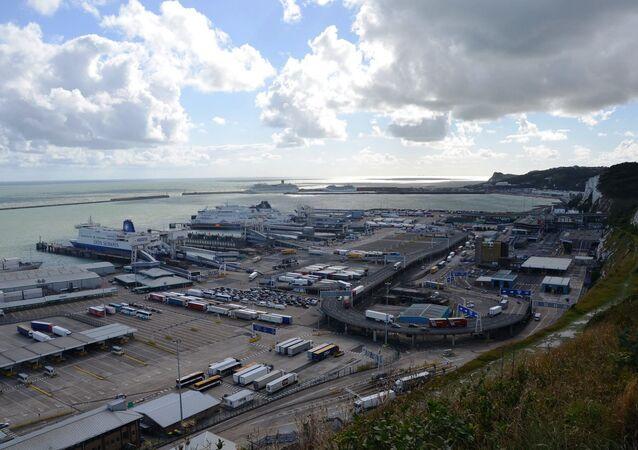 Dover port, England