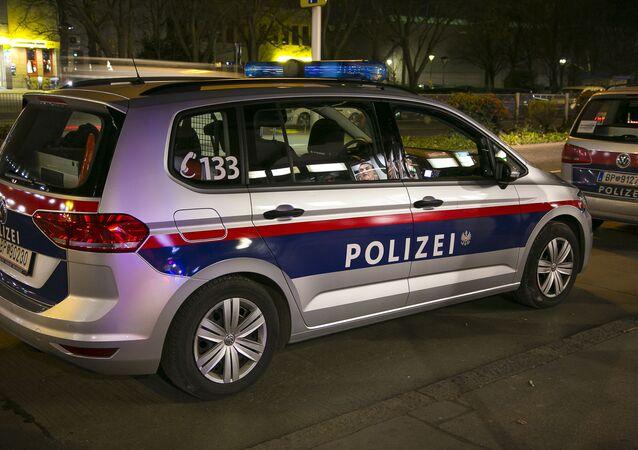 Vienna, police vehicle