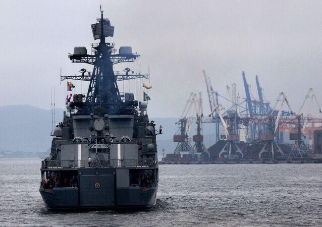 Admiral Panteleyev Ship in Gulf of Aden